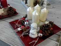 Zahájení prodeje adventních a vánočních aranžmá a stromků.